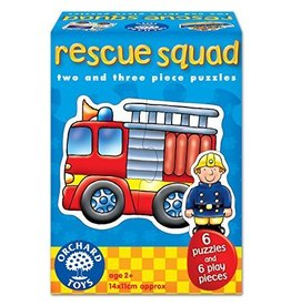 Orchard Toys Orchard Toys Rescue Squad 2 and 3 piece Puzzle 6 pack