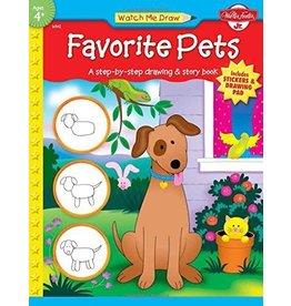 C2F Inc Watch me Draw Favorite Pets