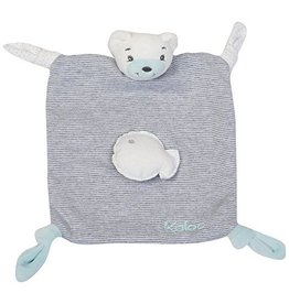 Jura Toys Kaloo Zen Doudou Bear 4 Knots Little Fish