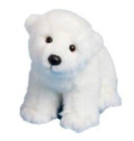 Douglas Toys Douglas Miki Polar Bear 8 inch with scarf
