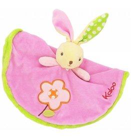 Jura Toys Kaloo Colors Round Doudou Rabbit Flower Toy