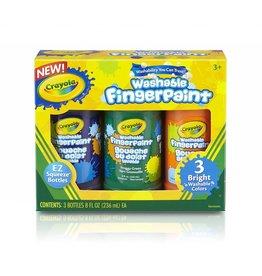 C2F Inc Crayola Washable Fingerpaint Bright