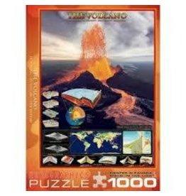 Eurographics Eurographics The Volcano 1000 Piece Puzzle
