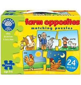 Orchard Toys Orchard Toys Farm Opposites Matching Puzzles