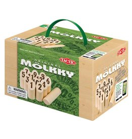 Lion Rampant Molkky Game Wooden Crate