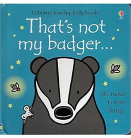 Educational Development Corporation DNR Usborne Thats Not My Badger