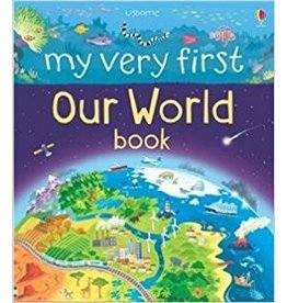 Educational Development Corporation Usborne My Very First Our World Book