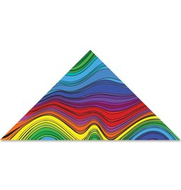 Premier Kites Premier Kites 9 Foot Delta Kite Electromagnetic Rainbow