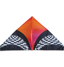 Premier Kites Premier Kites 56 Inch Delta Kite Orange Opt Art