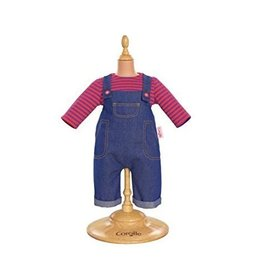 Corolle Corolle 17 Inch  Smock and Denim Overall