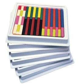 Learning Resources Cuisenaire Rods Multi Pack Plastic with Storage Container
