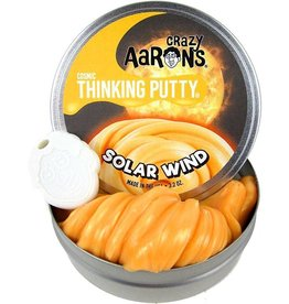 Crazy Aarons Puttyworld Crazy Aarons Solar Winds Cosmic Glow 4 Inch Tin