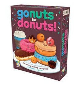 Gamewright Ceaco Brainwright Gamewright Go Nuts for Donuts