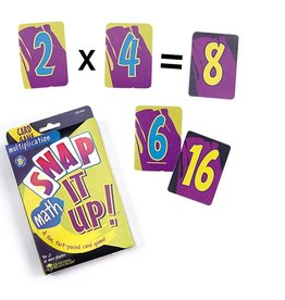 Learning Resources Snap It Up Multiplication Card Game
