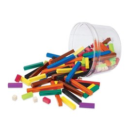 Learning Resources Cuisenaire Rods Small Group Set Plastic