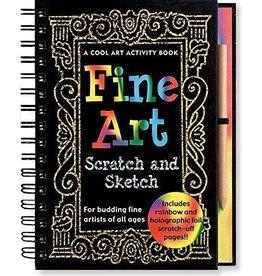 Peter Pauper Press Inc Scratch and Sketch Journal Fine Art