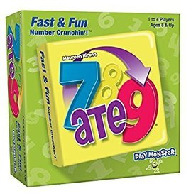 Playmonster 7 ATE 9 Fast and Fun Number Crunch n Game
