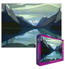 Eurographics EuroGraphics 1000 Piece Puzzle Maligne Lake by Lawren S Harris