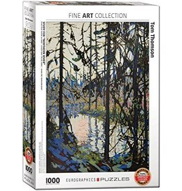 Eurographics EuroGraphics 1000 Piece Puzzle Study for Northern River by Tom Thomson