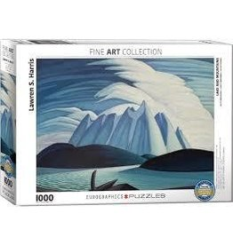 Eurographics EuroGraphics 1000 Piece Puzzle Lake and Mountain by Lawren Harris
