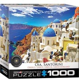 Eurographics EuroGraphics 1000 Piece Puzzle Oia Santorini Greece