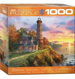 Eurographics EuroGraphics 1000 Piece Puzzle The Old Lighthouse  by Dominic Davidson