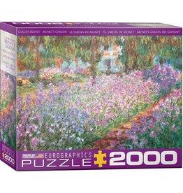 Eurographics EuroGraphics 2000 Piece Puzzle Monet's Garden by Claude Monet