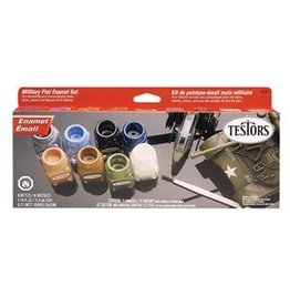 Horizon Hobby Testors Camo Flat Enamel Paint Set