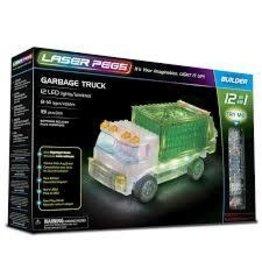 Laser Pegs Laser Pegs Garbage Truck
