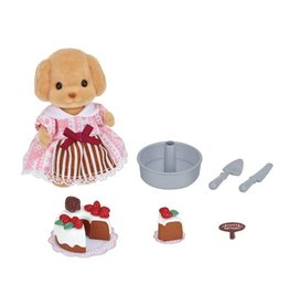 Epoch Everlasting Play Calico Critters Cake Decorating Set