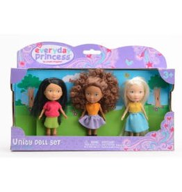 Neat Oh Everyday Princess 3 Doll Unity Set