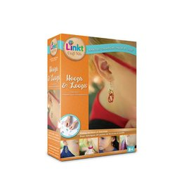 Neat Oh Linkt Craft Kit Hoops and Loops Earrings