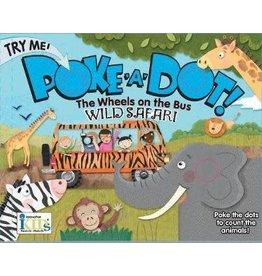 Innovative Kids Poke a Dot Book Wheels on the Bus Wild Safari