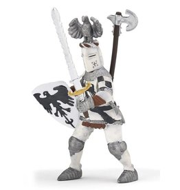 Hotaling Imports Papo White Crested Knight Figure