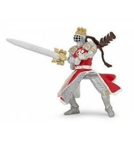 Hotaling Imports Papo Dragon King with Sword Figure