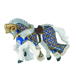Hotaling Imports Papo Blue Weapon Master Ram Horse Toy