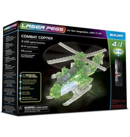 Laser Pegs Laser Pegs Combat Copter