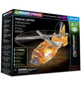 Laser Pegs Laser Pegs Rescue Copter