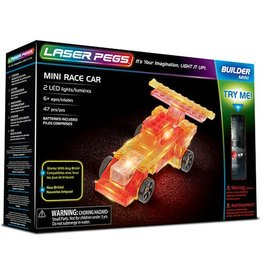 Laser Pegs Laser Pegs Mini Race Car