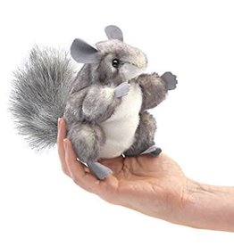 Folkmanis Puppets Folkmanis Mini Chinchilla Puppet