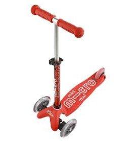 Micro Kickboard Mini Deluxe Micro Scooter Red