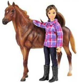 Reeves Breyer Horse and Doll Set Western Horse and Rider