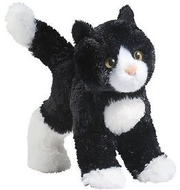Douglas Toys Douglas Snippy Black and White Cat Plush