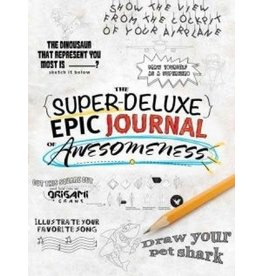 C2F Inc Super Deluxe Epic Journal of Awesomess