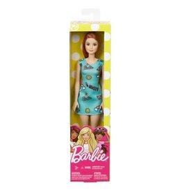 Mattel Mattel Happy Barbie Red Hair Blue Dress