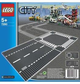 Lego Lego 7280 City Straight and Crossroad Plates