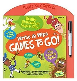Peaceable Kingdom DNR Peaceable Kingdom Write and Wipe Games to Go