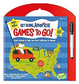 Peaceable Kingdom Peaceable Kingdom Get Going America Games to Go
