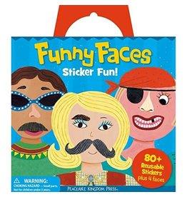 Peaceable Kingdom Peaceable Kingdom Funny Faces Sticker Fun