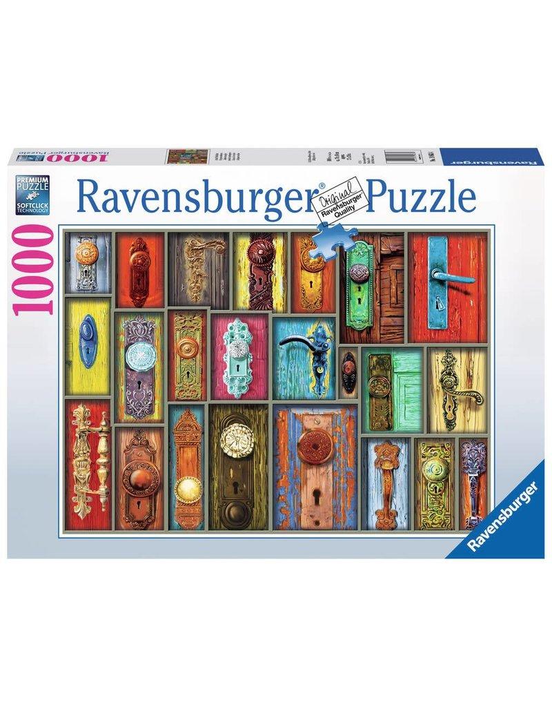 Ravensburger Ravensburger Antique Doorknobs Piece Puzzle ToyTown